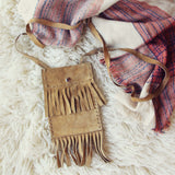 Vintage 70's Fringe Tote: Alternate View #4