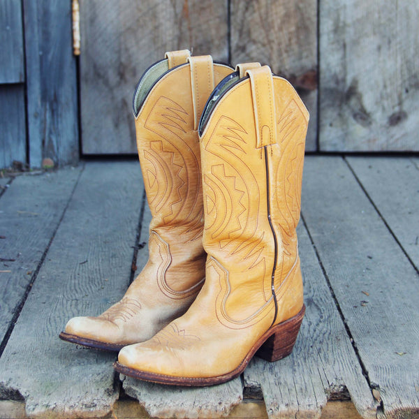 Vintage Frye Boots: Featured Product Image