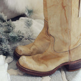 Vintage 70's Frye Campus Boots: Alternate View #3