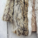Vintage Nordic Fur Coat: Alternate View #3