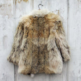 Vintage Nordic Fur Coat: Alternate View #4
