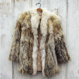 Vintage Nordic Fur Coat: Alternate View #1