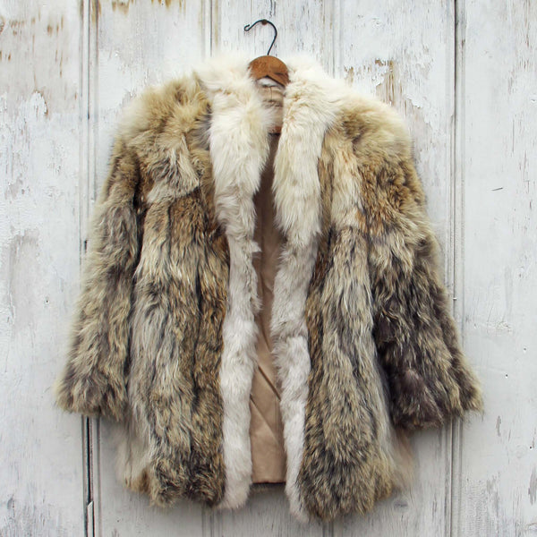 Vintage Nordic Fur Coat: Featured Product Image