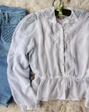 Vintage 70's Gunne Sax Romantic Blouse: Alternate View #3