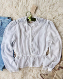 Vintage 70's Gunne Sax Romantic Blouse: Alternate View #1