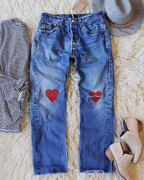 Vintage Heart Levi's: Featured Product Image