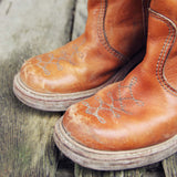 Vintage Honey Campus Boots: Alternate View #2