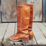 Vintage Honey Campus Boots: Alternate View #3