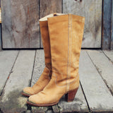 Vintage Honey Zodiac Boots: Alternate View #1