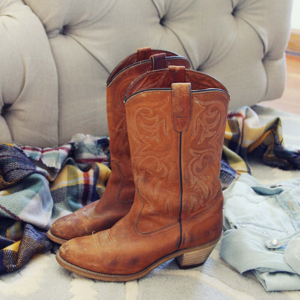 Vintage Jackson Boots: Featured Product Image