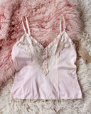 Vintage Pink Lace Cami: Alternate View #1