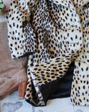 Vintage 60's Leopard Coat: Alternate View #3