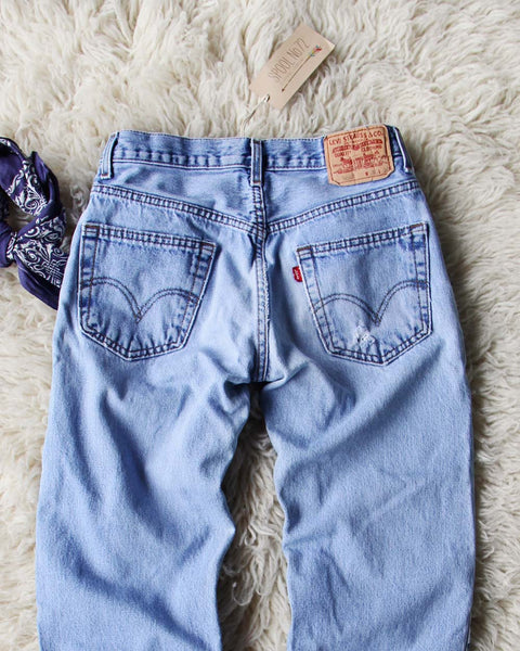 Vintage Levi's 550's: Featured Product Image