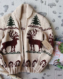 Vintage North Woods Cowichan Sweater: Alternate View #2