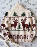 Vintage North Woods Cowichan Sweater: Alternate View #3