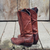 Vintage Oak Boots: Alternate View #3