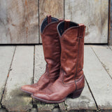 Vintage Oak Boots: Alternate View #1