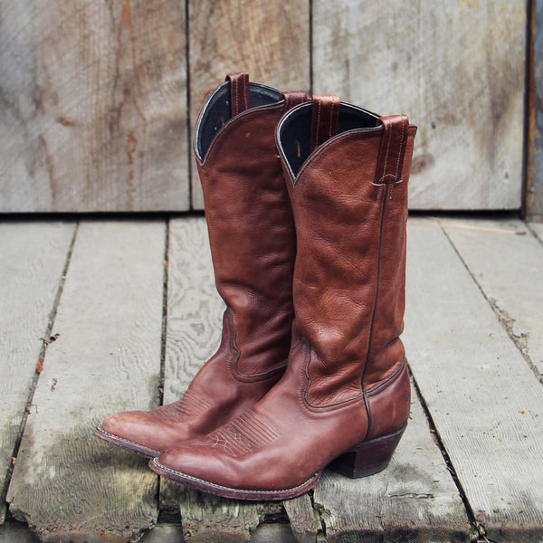 Vintage Oak Boots: Featured Product Image