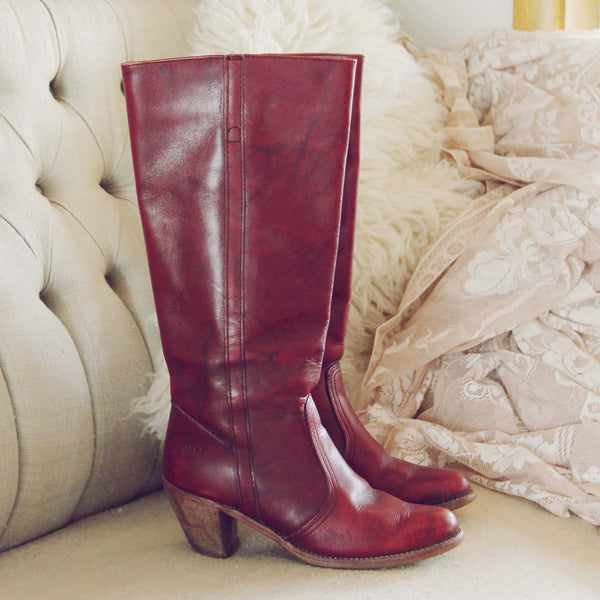 Vintage Dex Campus Boots: Featured Product Image