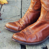 Vintage Rugged Boots: Alternate View #2