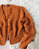 Vintage 70's Rust Nubby Knit Sweater: Alternate View #2