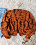 Vintage 70's Rust Nubby Knit Sweater: Alternate View #1
