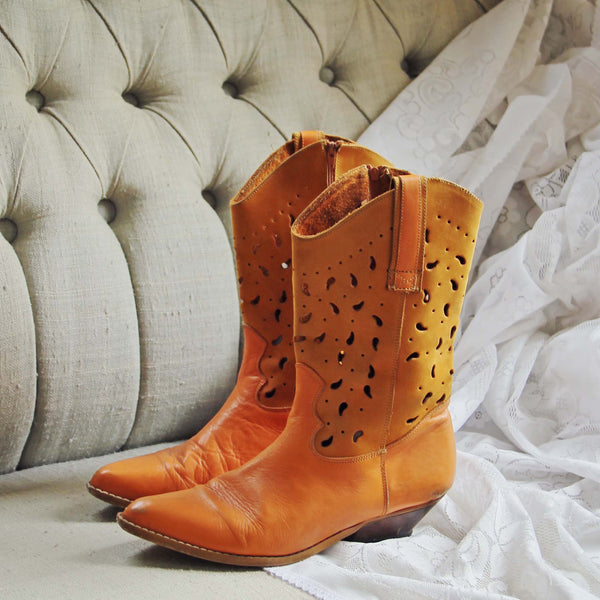 Vintage Santa Fe Boots: Featured Product Image