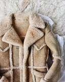 Vintage 70's Shearling Cozy Coat: Alternate View #2