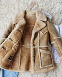 Vintage 70's Shearling Cozy Coat: Alternate View #3