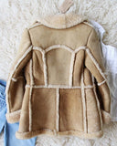 Vintage 70's Shearling Cozy Coat: Alternate View #4