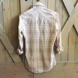 Vintage Cactus Plaid Top: Alternate View #5