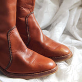 Vintage Sienna Campus Boots: Alternate View #2