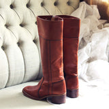 Vintage Sienna Campus Boots: Alternate View #3