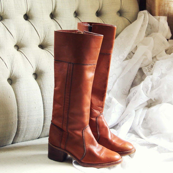 Vintage Sienna Campus Boots: Featured Product Image