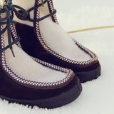 Vintage Ski Lounger Boots: Alternate View #2