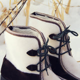 Vintage Ski Lounger Boots: Alternate View #3