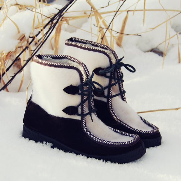 Vintage Ski Lounger Boots: Featured Product Image