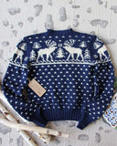 Vintage Sleepy Forest Sweater: Alternate View #3