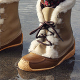Vintage Cozy Snow Boots: Alternate View #2