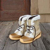 Vintage Cozy Snow Boots: Alternate View #3