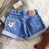Vintage Cuffed Sparrow Shorts: Alternate View #2
