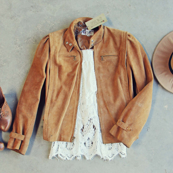 Vintage 70's Suede Jacket: Featured Product Image