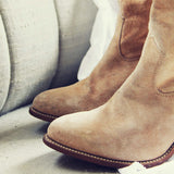 Vintage Sand Capezio Boots: Alternate View #2