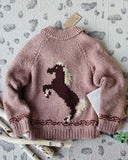 Vintage Sweet Horse Sweater: Alternate View #3
