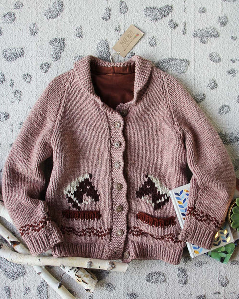 Vintage Sweet Horse Sweater: Featured Product Image