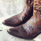 Vintage Sweetwater Cowboy Boots: Alternate View #2