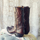 Vintage Sweetwater Cowboy Boots: Alternate View #3
