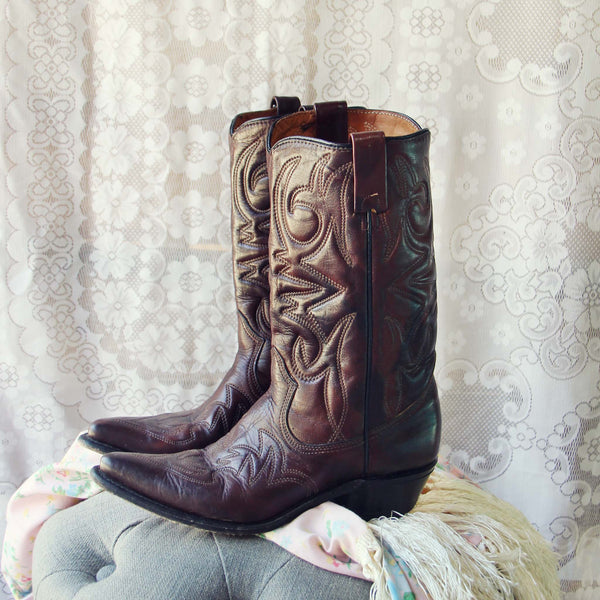 Vintage Sweetwater Cowboy Boots: Featured Product Image