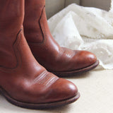 Vintage Whiskey Boots: Alternate View #2