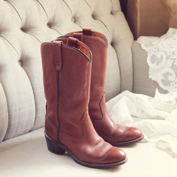 Vintage Whiskey Boots: Featured Product Image